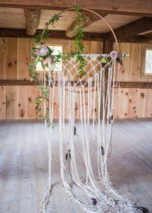 Decoración bodas con macramé
