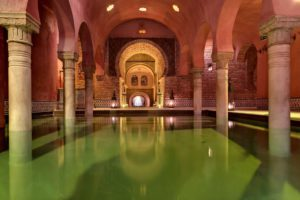 arab baths, things to do in Granada