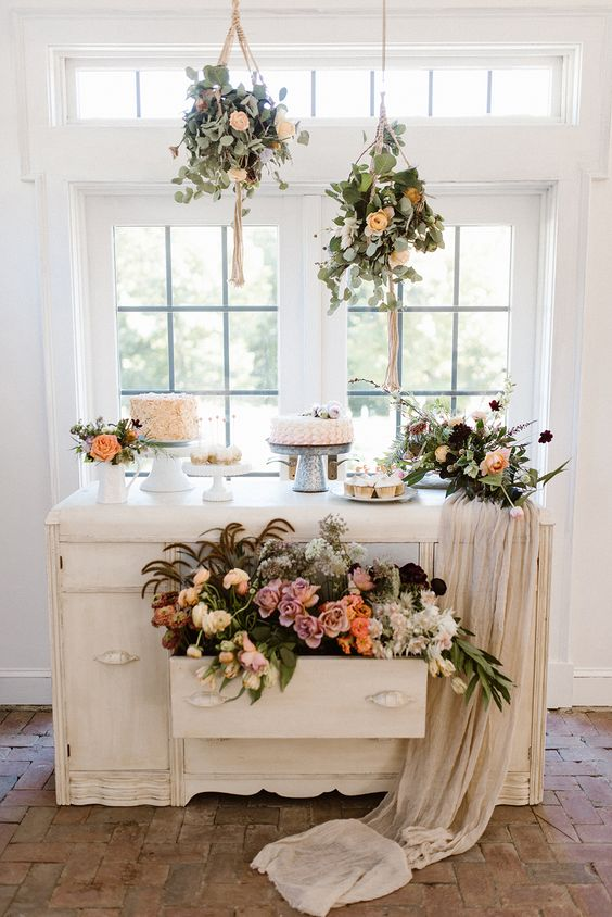 sweet corners for your wedding