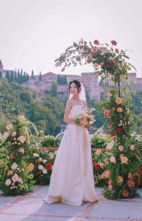 boda de destino bajo el embrujo de la Alhambra